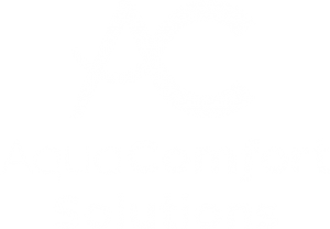 AquaComfort Logo - White